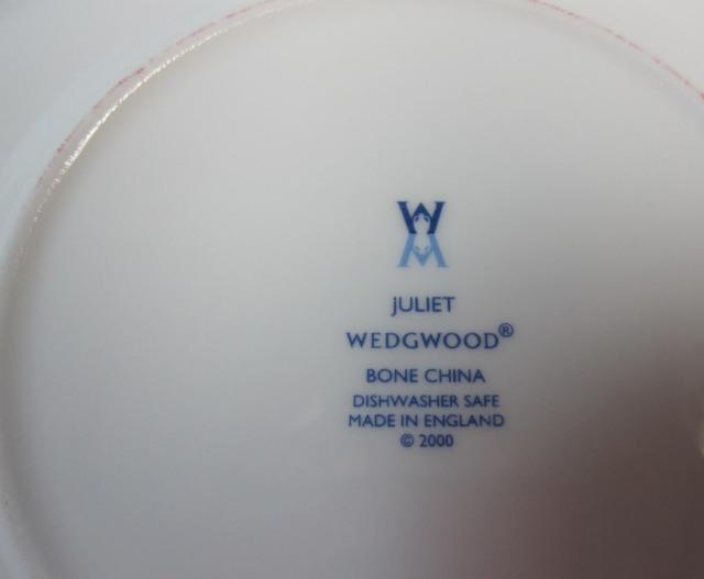 ウェッジウッド Wedgwood ジュリエット 15cmプレート【アウトレット品/70%オフ!】