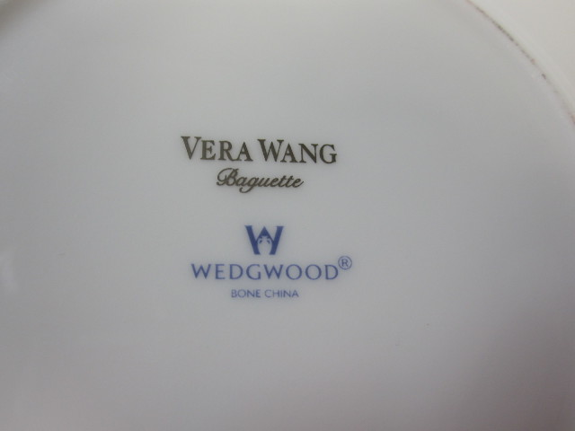 ウェッジウッド Wedgwood ヴェラワン バゲット 15cmプレート 【アウトレット品】