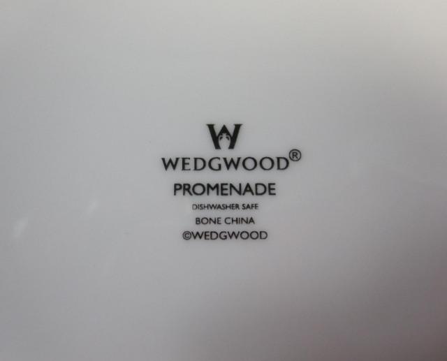 ウェッジウッド Wedgwood プロムナード 20cmプレート 【アウトレット品】