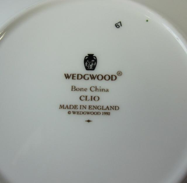 ウェッジウッドWedgwood クリオ カップ&ソーサー インペリアル【ウェッジウッド廃盤品/個数限定】