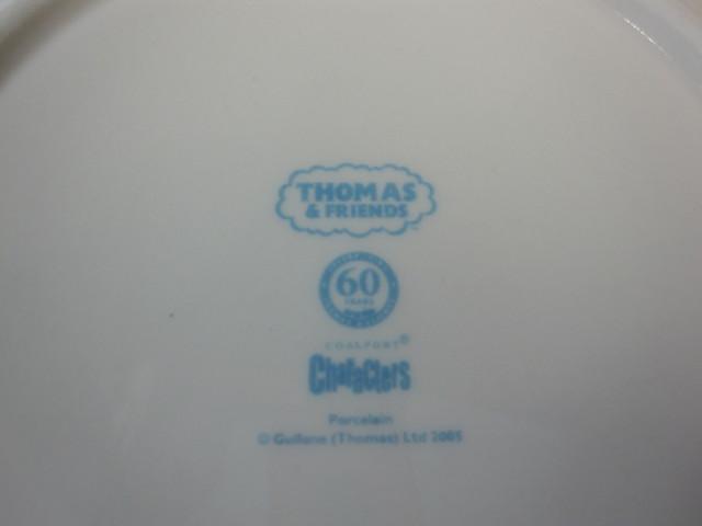 コールポート COALPORT トーマスザタンク 3ピースセット【廃盤品/新品】