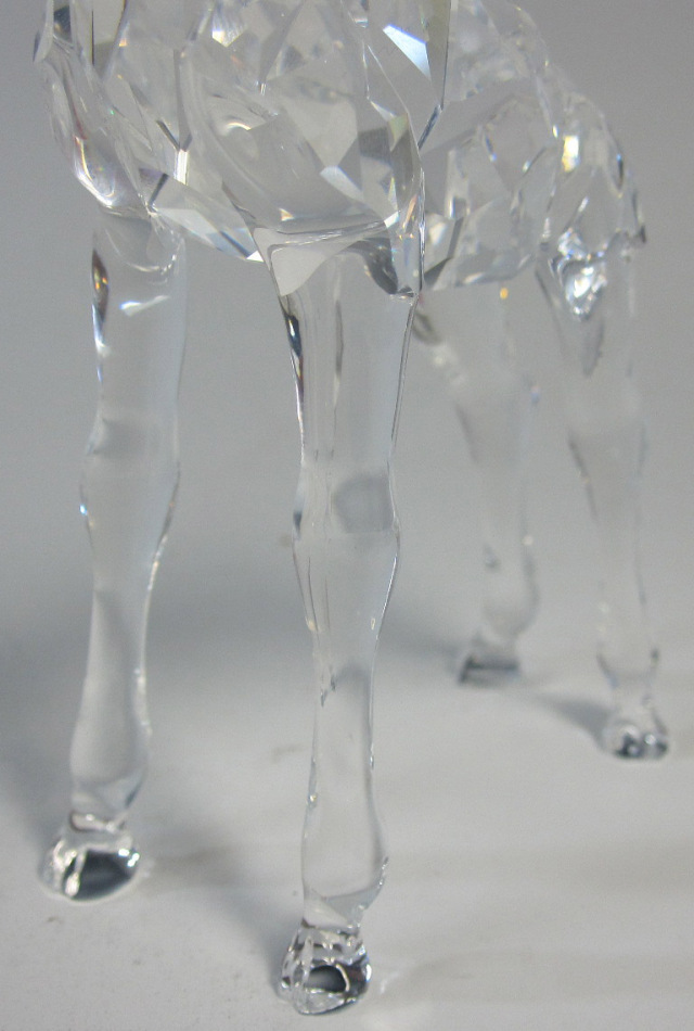 スワロフスキー SWAROVSKI シルバークリスタル キリンの赤ちゃん 236717【スワロフスキー廃盤品/在庫1個】
