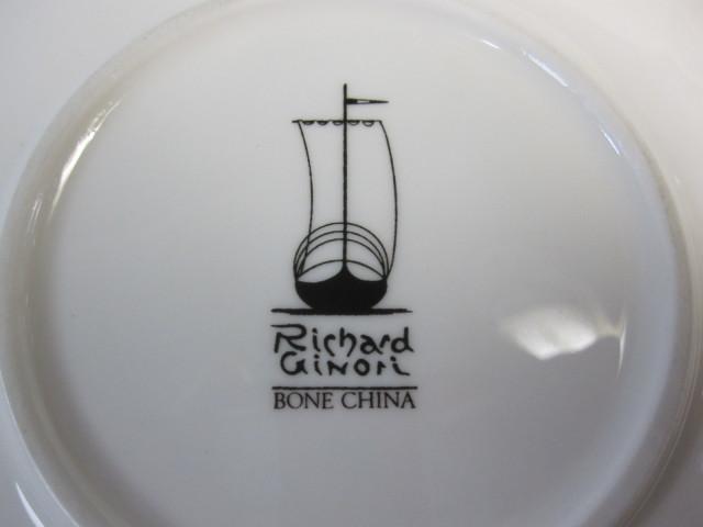 リチャードジノリ Richard Ginori ラゴホワイト ティーカップ&ソーサー 【新品】