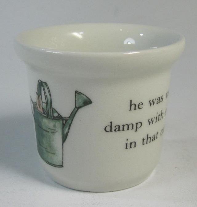 ウエッジウッド Wedgwood ピーターラビット オリジナル エッグカップ 英国製 / 個数限定
