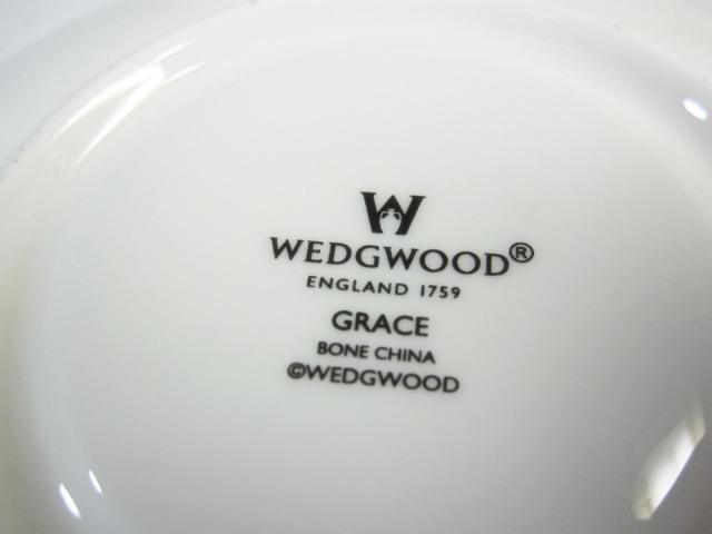 ウェッジウッド Wedgwood グレース(グレイス) カップ&ソーサー リー 【ウェッジウッド廃盤品/個数限定】