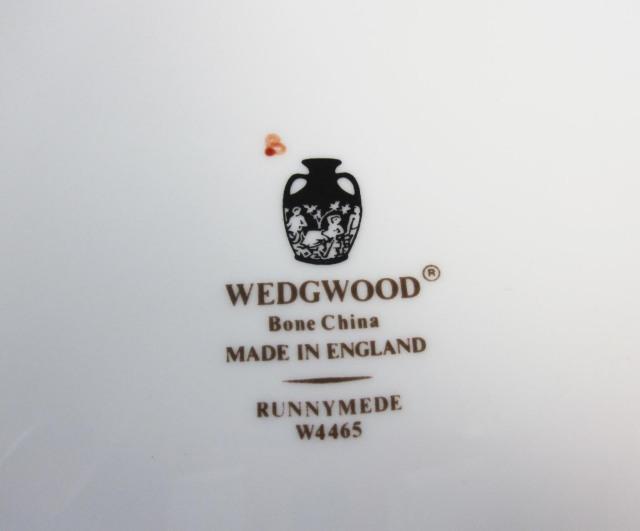 ウェッジウッドWedgwood ラニミードターコイス 39cmオーバルディッシュ 【ウェッジウッド廃盤品/個数限定】