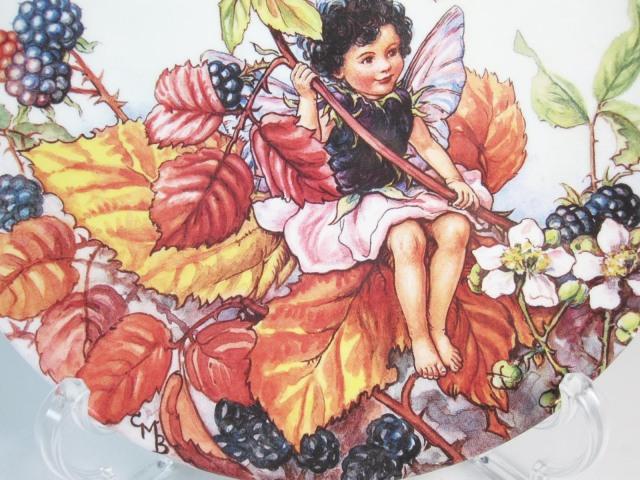 ウェッジウッド Wedgwood フラワーフェアリーコレクション Flower Fairies/花の妖精 ブラックベリー