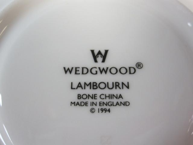 ウェッジウッドWedgwood ランボーン カップ&ソーサー リー【ウェッジウッド廃盤品/個数限定】