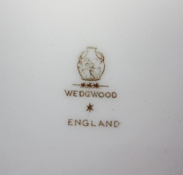ウェッジウッド Wedgwood チャイニーズタイガーグリーン 18cmプレート 【アンティーク ウェッジウッド/個数限定】