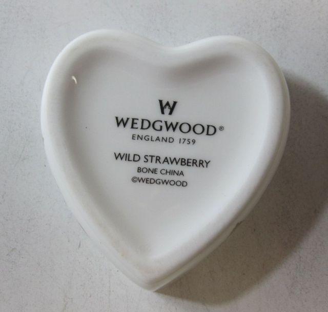 ウエッジウッド Wedgwood ワイルドストロベリー ハートボックス S
