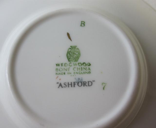 ウェッジウッドWedgwood アッシュフォードレッド カップ&ソーサー ボンド 【ウェッジウッド廃盤品/個数限定】