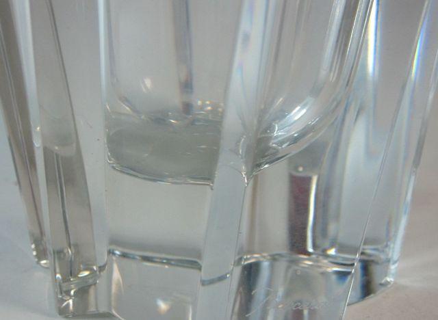 バカラ Baccarat オブジェクティブ ベース 高さ約22cm