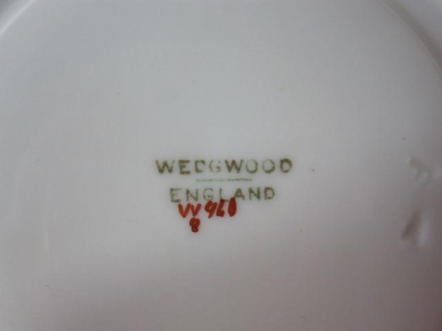 ウェッジウッド Wedgwood シアネス カップ&ソーサー ピオニー 【アンティークウェッジウッド/個数限定】