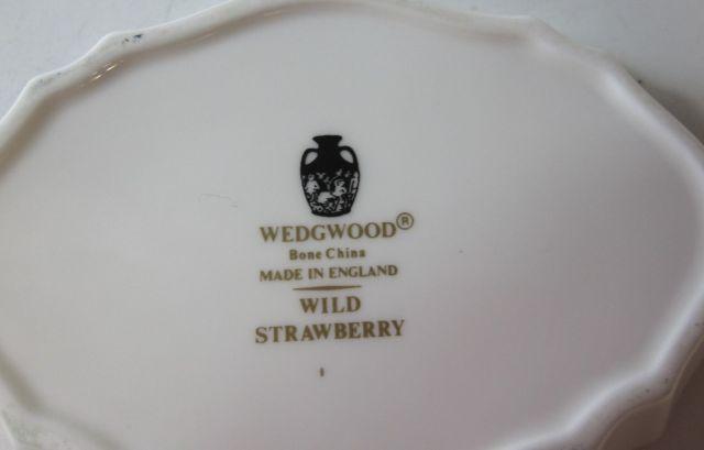 ウェッジウッドWedgwood  ワイルドストロベリー  シルバートレー 【ウェッジウッド廃盤品/個数限定】