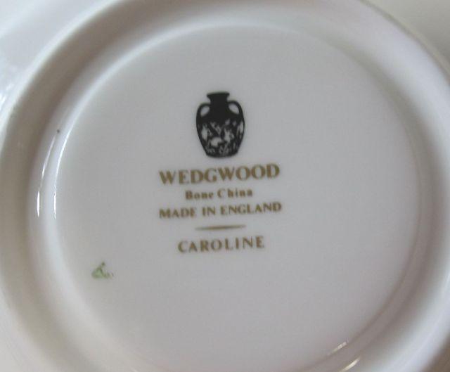 ウェッジウッド Wedgwood キャロライン  カップ&ソーサー【ウェッジウッド廃盤品/個数限定】