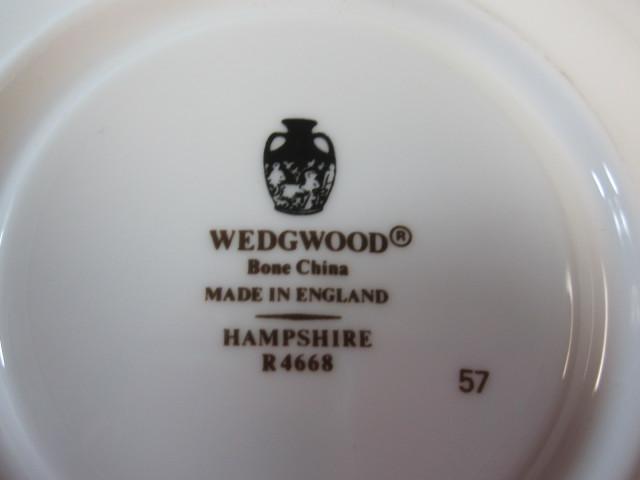 ウェッジウッド Wedgwood ハンプシャー  カップ&ソーサー  リー【ウェッジウッド廃盤品/個数限定】