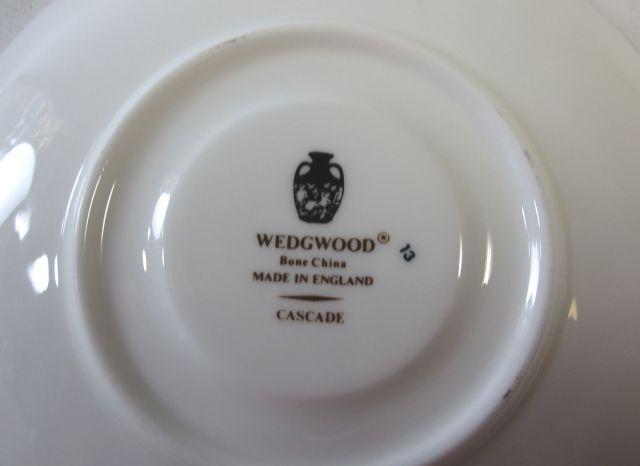 ウェッジウッド Wedgwood カスケード ティー カップ&ソーサー 【ウェッジウッド廃盤品/個数限定】
