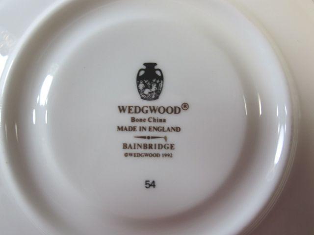 ウェッジウッド Wedgwood ベインブリッジ ティー カップ&ソーサー 【ウェッジウッド廃盤品/個数限定】