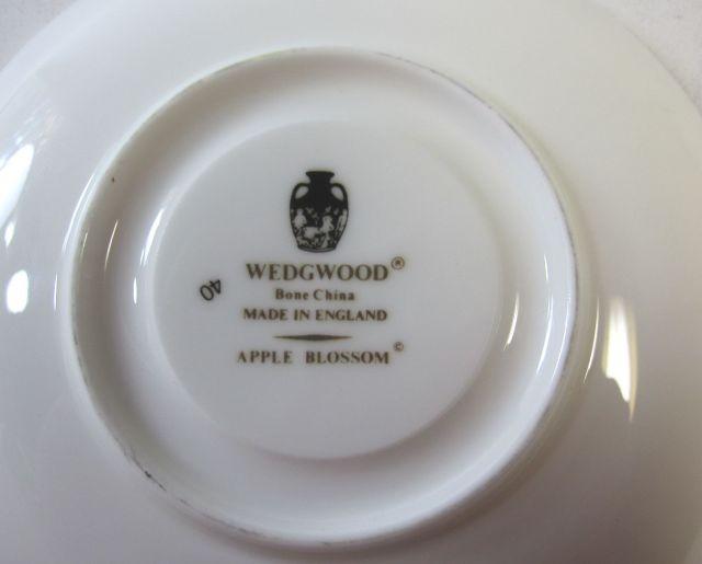ウェッジウッドWedgwood アップルブロッサム カップ&ソーサー デミタス 【ウェッジウッド廃盤品/個数限定】