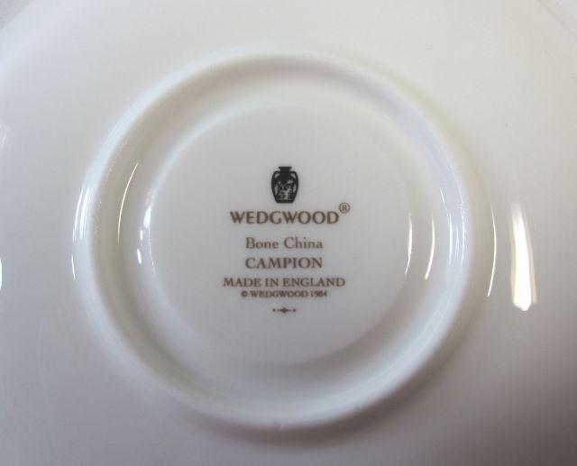 ウェッジウッド Wedgwood カンピオン ティーカップ&ソーサー【ウェッジウッド廃盤品/個数限定】