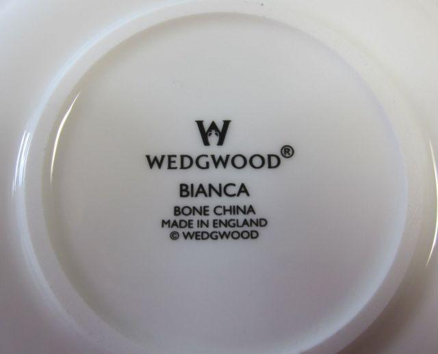 ウェッジウッドWedgwood  ビアンカ  デミタス カップ&ソーサー【ウェッジウッド廃盤品/個数限定】