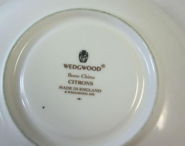 ウエッジウッド Wedgwood シトロン カップ&ソーサー リー 【ウェッジウッド廃盤品/個数限定】