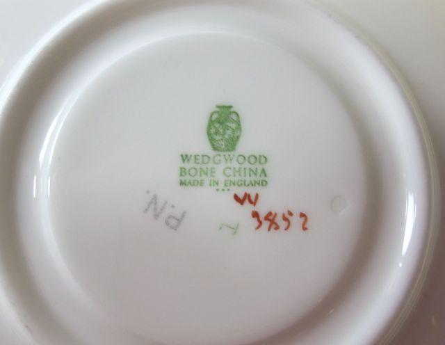 ウェッジウッド Wedgwood ゴールデンアイビー カップ&ソーサー ピオニー 【ウェッジウッド廃盤品/個数限定】