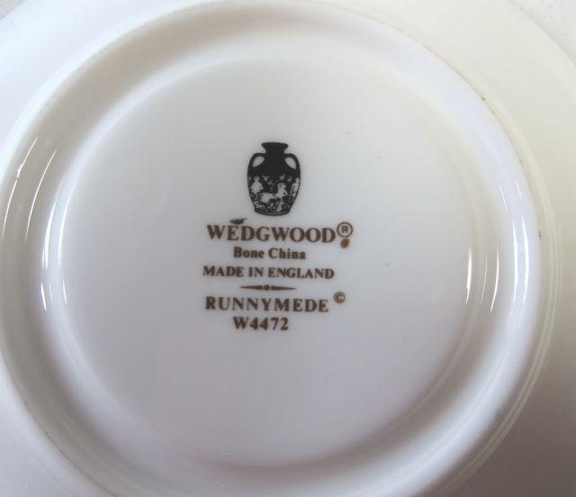ウェッジウッドWedgwood ラニミードダークブルー カップ&ソーサー ボンド【ウェッジウッド廃盤品/個数限定】