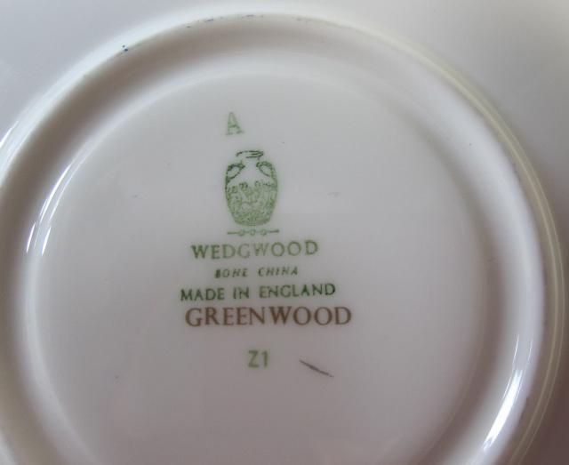ウェッジウッド Wedgwood グリーンウッド  カップ&ソーサー ピオニー【ウェッジウッド廃盤品/個数限定】