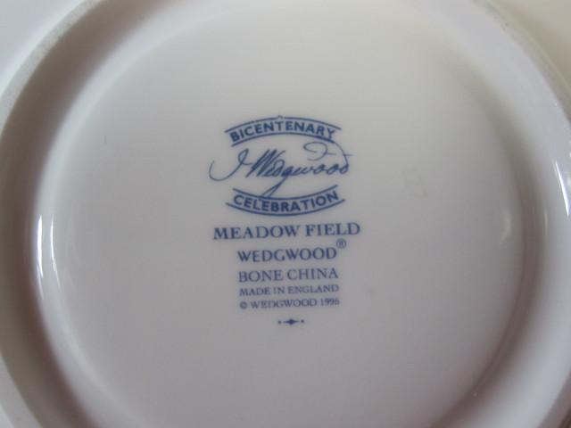 ウェッジウッド WEDGWOOD メドウフィールド ティーカップ&ソーサー リー  【ウェッジウッド廃盤品/個数限定】
