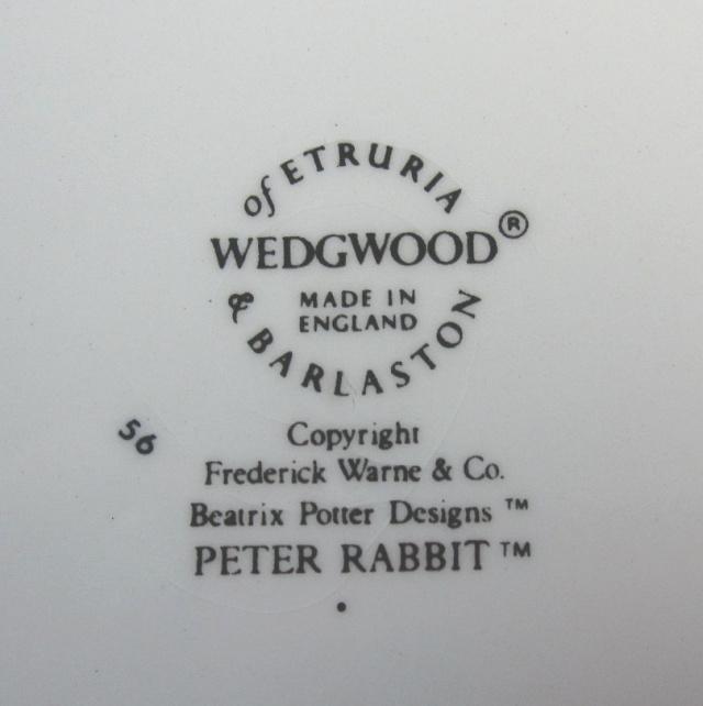 ウエッジウッド Wedgwood ピーターラビット オリジナル ポリンジャー 英国製 / 【個数限定 】