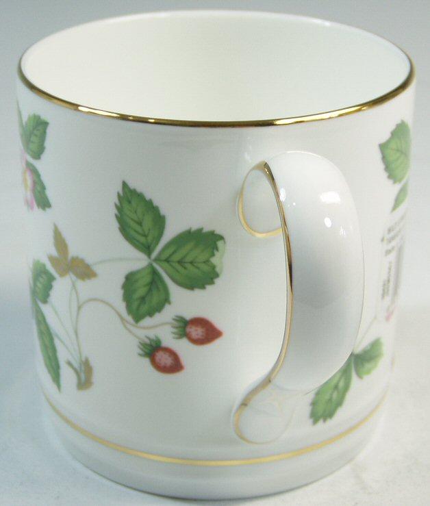 ウェッジウッド Wedgwood ワイルドストロベリー  マグカップ (タンカード)