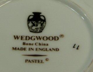 ウェッジウッドWedgwood パステル デミタス カップ&ソーサー 【ウェッジウッド廃盤品/個数限定】